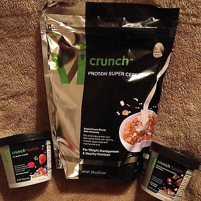 ViSalus Body By Vi 90-Day Weight Loss Challenge - ViCrunch Cereal w/ 2 Fusions!!