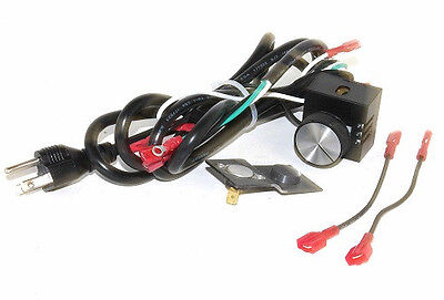 Fireplace Blower Speed Controller+Thermal Fan Temperature Switch Control P38-1