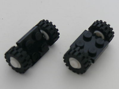 LEGO Bulk Brick ~ Small Wheels and Axles ~ Contains 52 Parts Item# 10046