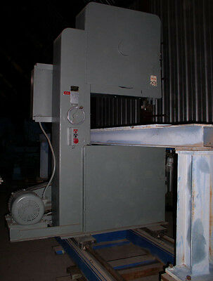 "16"" x 144"" TANNEWITZ Model G1NE Vertical Band Type Plate Saw, Non-Ferrous Type"