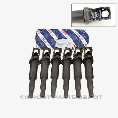 BMW Ignition Coil Bosch OEM 04470 / 94937 (6pcs)