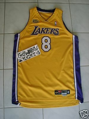 KOBE BRYANT 99-00 GAME procut nike lakers jersey finals