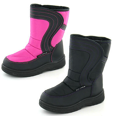 Wholesale Girls Snow Boots 16 Pairs Sizes 5-10  H4072