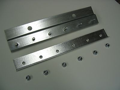 Pre-Studded Wall Mount Galvanized Strip Door Hardware 8ft length