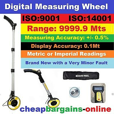 DIGITAL DISTANCE MEASURING WHEEL MEASURING TRUNDLE 10km DISTANCE TAPE MEASURE