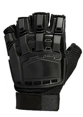 SWAT Military Airsoft Paintball Police Tactical Gloves Half Finger Protect Armed