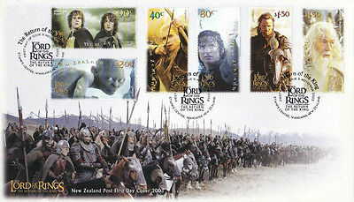 New Zealand The Lord Of The Rings Return Of The King 2003 Movie Middle Earth FDC