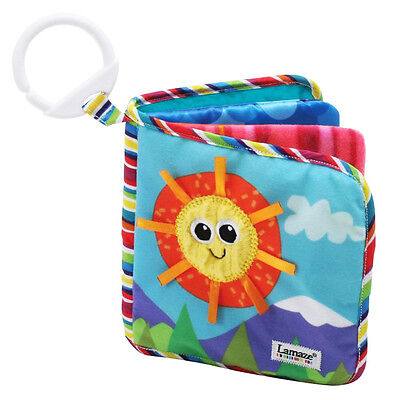 New Lamaze Soft Book - Classic Discovery  16cm x 16cm