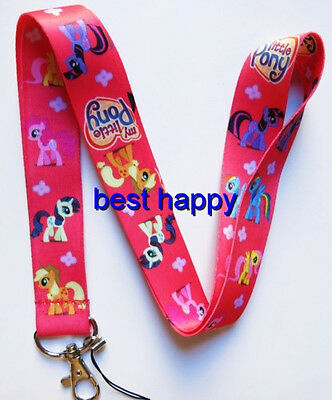 New 10 Pcs My Little Pony Neck mobile Phone lanyard Keychain straps charms Gifts