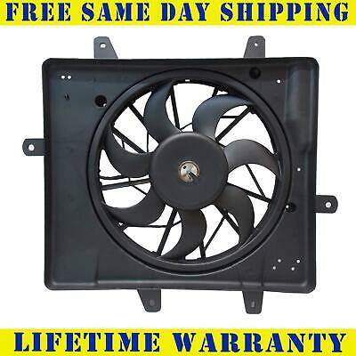 01-05 CHRYSLER PT Cruiser without Turbo Radiator Cooling Fan Motor on