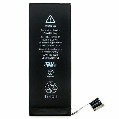 New 1560mAh Li-ion Battery Replacement for iPhone 5C 5S 5th Gen with flex cable