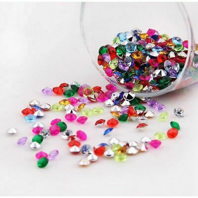 2000x Party Table Crystals Scatter Diamond Acrylic Beads Confetti Wedding Decor