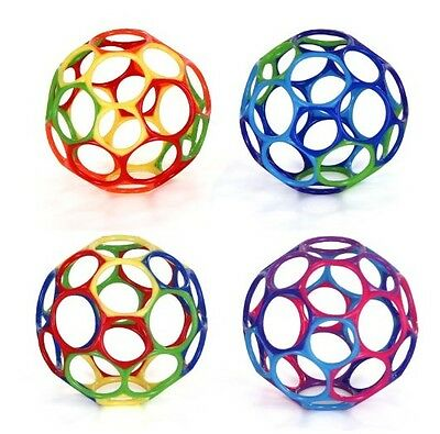 """(1) Multi-Colored 4"""" Oball BPA Free Easy Grasp Hold Ball Occupational Therapy"""