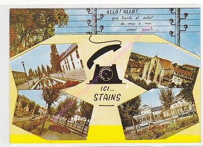 CPSM 93240 STAINS ALLO ici Stains multivues 4 vues n2  Edt RAYMON ca1994