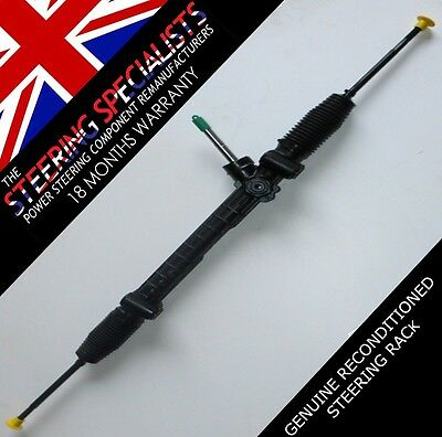 Vauxhall Corsa C 1.2 16V SXI , 2001 to 2006 Reconditioned Steering Rack, EPS