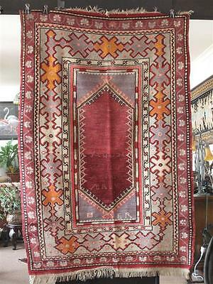 Old Turkish Village Handmade Prayer Rug  …from Central Anatolia