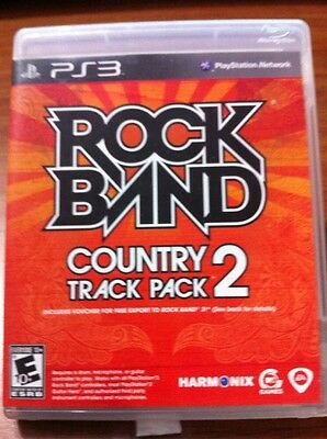 ps3 Rock Band: Country Track Pack Volume 2 complete