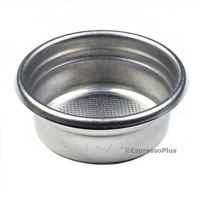 La Marzocco 2 Cup Portafilter Insert Basket - OEM Part #L116/A Etched On Insert