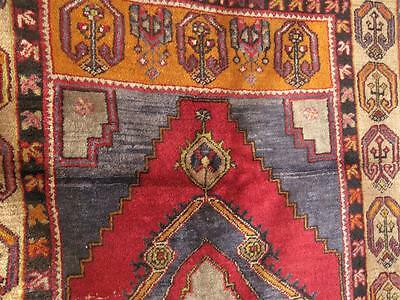 Old Turkish Yayla Village Rug, Central Anatolia... great colour and abeyance...