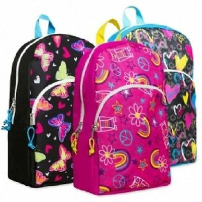 Girls Character Printed Backpacks by Trailmaker New With Tags