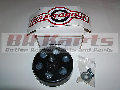 "10T #35, 3/4"" Max Torque Box Stock/Clone Clutch for Go Kart Racing, cart"