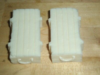 1/32 Scale Solid Resin Ammo Crates (T1) For Model Scenes & Dio's 2 Pack See Pics