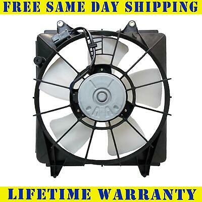 RADIATOR COOLING FAN FOR HONDA FITS CIVIC COUPE SEDAN 1.8L L4 4CYL