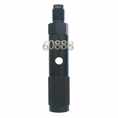 Quick Change 12g 12 Gram CO2 Cartridge Adapter with 88g Bottle Threads-Black