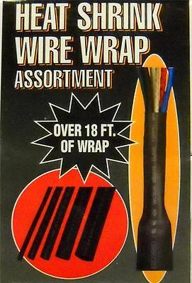 New 5 Heat Shrink Wire Wrap assortment Tubing & Marine,Wiring Repair Over 18 FT