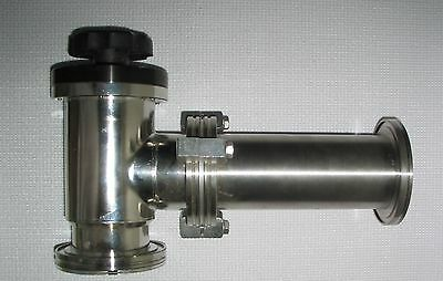 Vacuum Manual Sealed SS Angle Valve