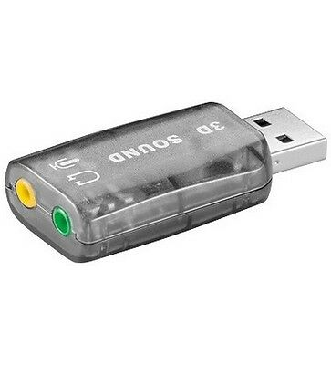 Adaptateur Cle Usb Carte Son Externe 3D Audio Micro 5.1