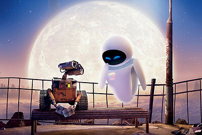 "Wall E Movie Fabric Poster 20"" x 13"" Decor 10"