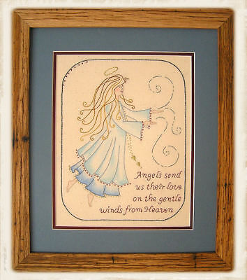 ANGELS IN HEAVEN || Stitchery Kit ||