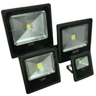 Faro Led Slim Faretto Luce Calda Luminosita' 10W 20W 30W 50W 80W 100W Ip66 3000K
