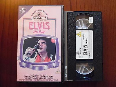 Elvis on tour - VHS ed. Mgm/UA rara (video import)