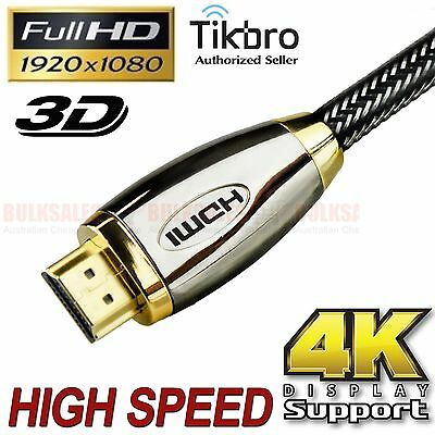 2-20m HDMI Cable Gold Plated V1.4 3D High Speed w/ Ethernet HEC 4K Full Ultra HD
