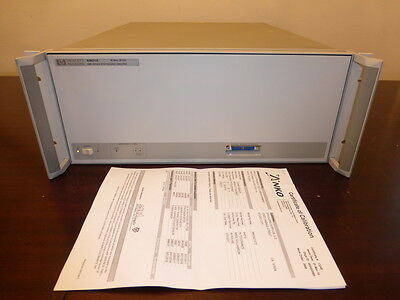 Agilent HP 83621A 45MHz to 20GHz Synthesized Sweeper / Signal Generator - CAL'D!