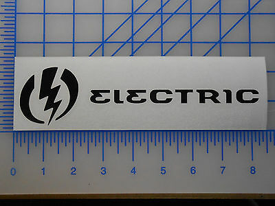 "Electric Sunglasses Logo Decal Sticker 8"" 10"" Knoxville Big Beat Tech One Charge"