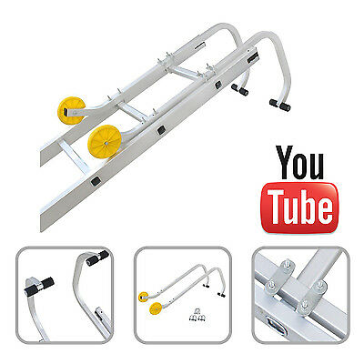 Universal Roof Hook Kit for Aluminium Extension Ladders | 1 Year Warranty