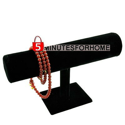 T-Bar Jewelry Display Stand Holder Bracelet Bangle Necklace Watch Hanging Rack