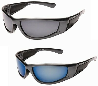 Mens Wraparound Designer Sport Sunglasses Motorcycle Glasses Freefall FREE Pouch