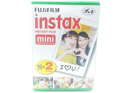 1 x FUJI INSTAX MINI FILM 20 Pack For 7 8 9 25 50 70 90 By 1st CLASS ROYAL MAIL