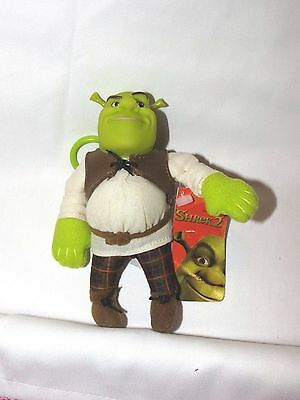 New Shrek 2 Plush Keychain Backpack Clip On Party Favors Supplies
