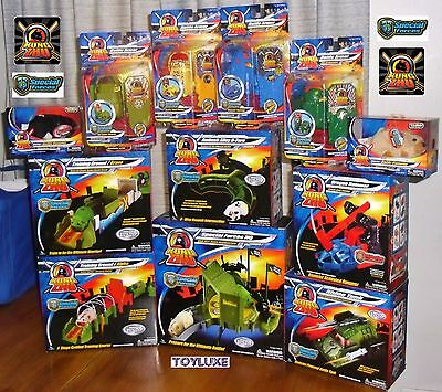 Kung Zhu Pets Hamster SPECIAL FORCES 12 Piece Set Base Training Tank Hammer Lot