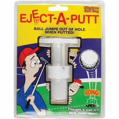 EJECT-A-PUTT - Golf Ball Jumps Pops Out of Hole - Trick Gag Joke Prank Toy