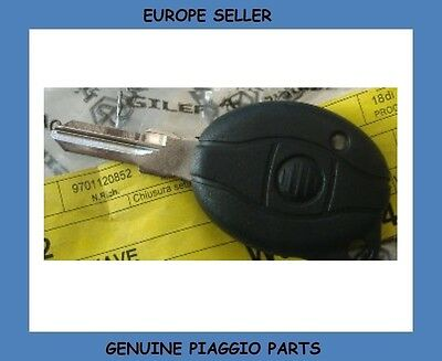 Gilera Nexus 500 Genuine Blank Key NEW 975712