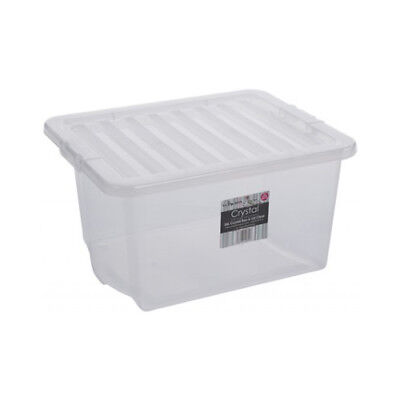 Kids Large Plastic Childrens Toy Storage Boxes 35Ltr