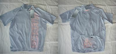 """NEUF : MAILLOT vélo """"CRAFT L1 VENTILATION JERSEY"""" gris clair - taille M"""