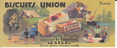 Buvard *biscuits Union*