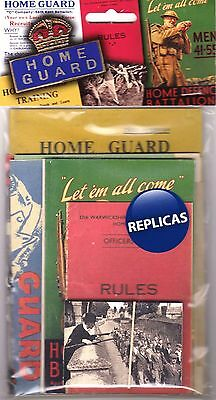 Home Guard Memorabilia Pack: Home Defence Battalions Dads Army WW2 War Office